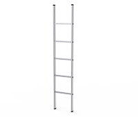 Single Part Aluminum Ladder