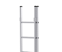 Dual Aluminum Extension Ladder