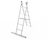 Dual A type Aluminum Ladder